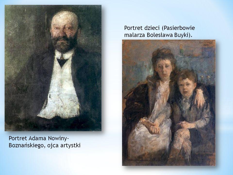 Portret dzieci (Pasierbowie malarza Bolesława Buyki).