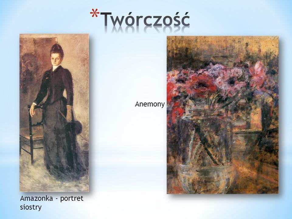 Twórczość Anemony Amazonka - portret siostry