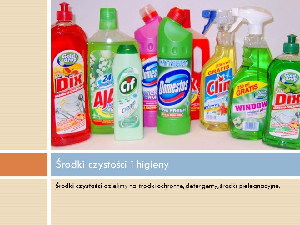 Środki czystości i higieny