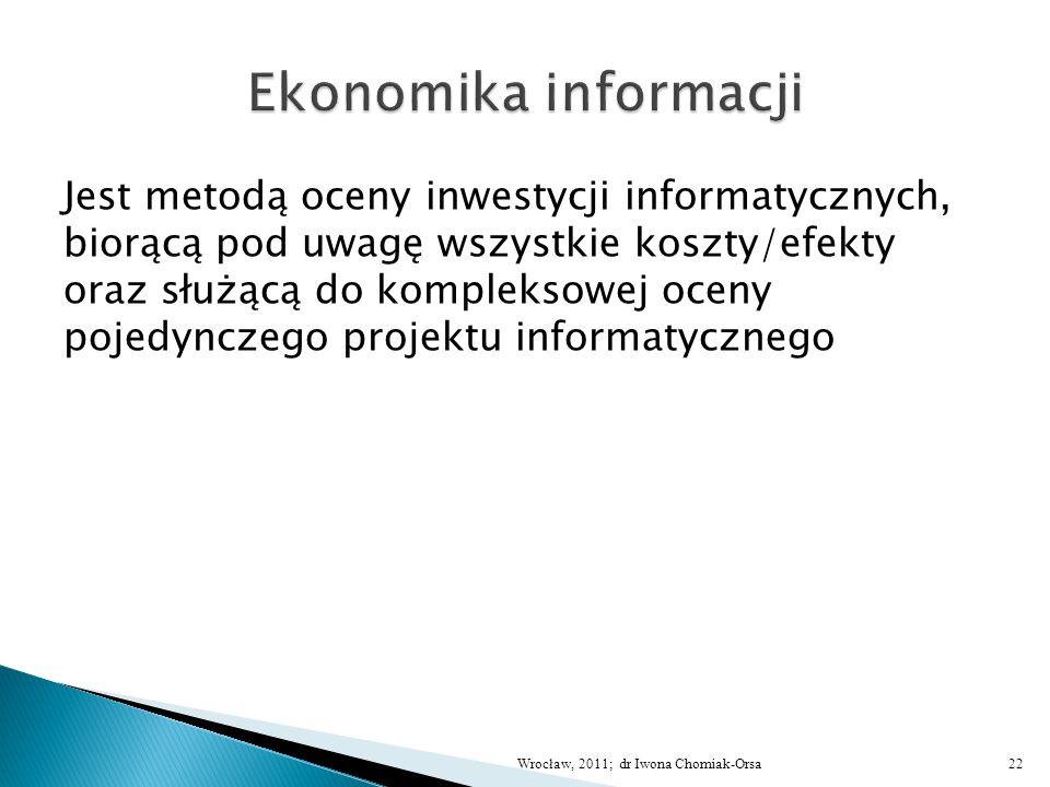 Ekonomika informacji
