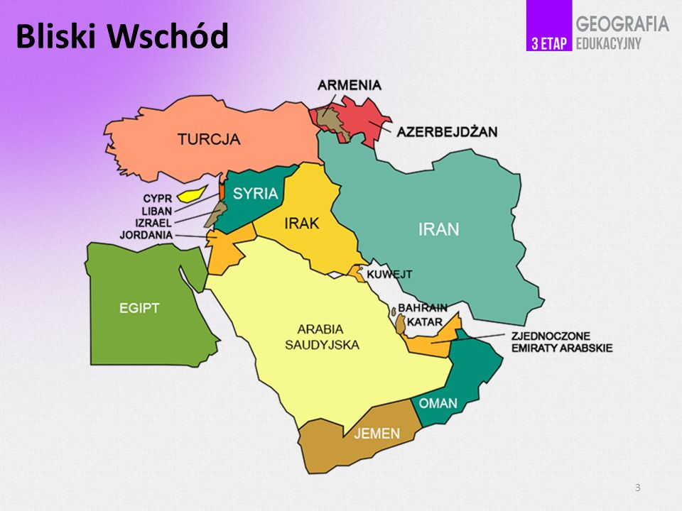 Bliski Wschód 3