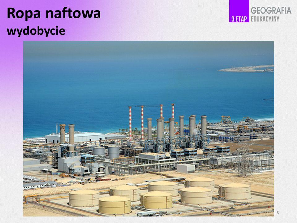 Ropa naftowa wydobycie