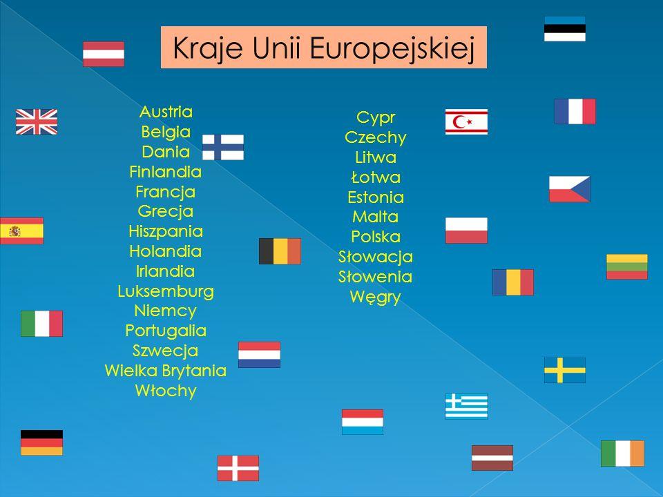Kraje Unii Europejskiej