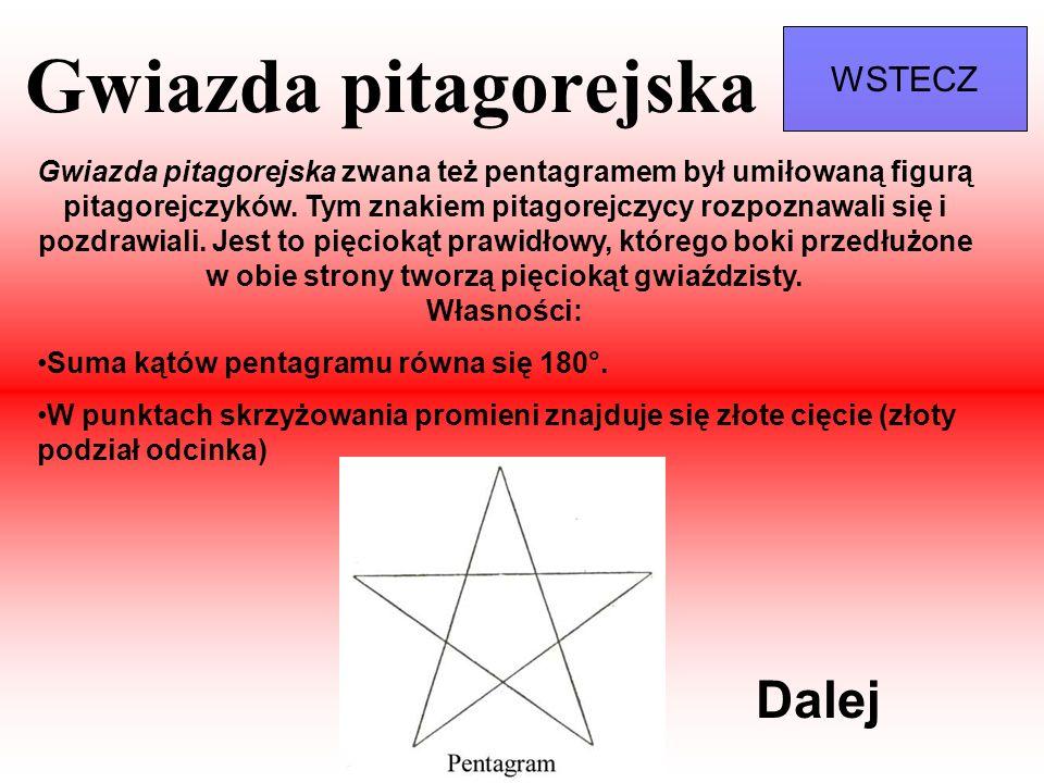 Gwiazda pitagorejska Dalej WSTECZ
