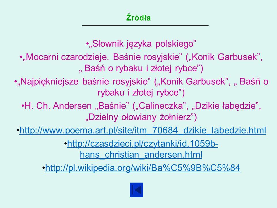 """""""Słownik języka polskiego"""