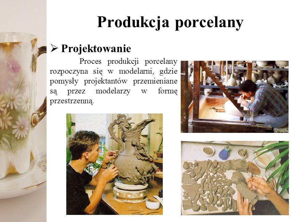 Produkcja porcelany Projektowanie