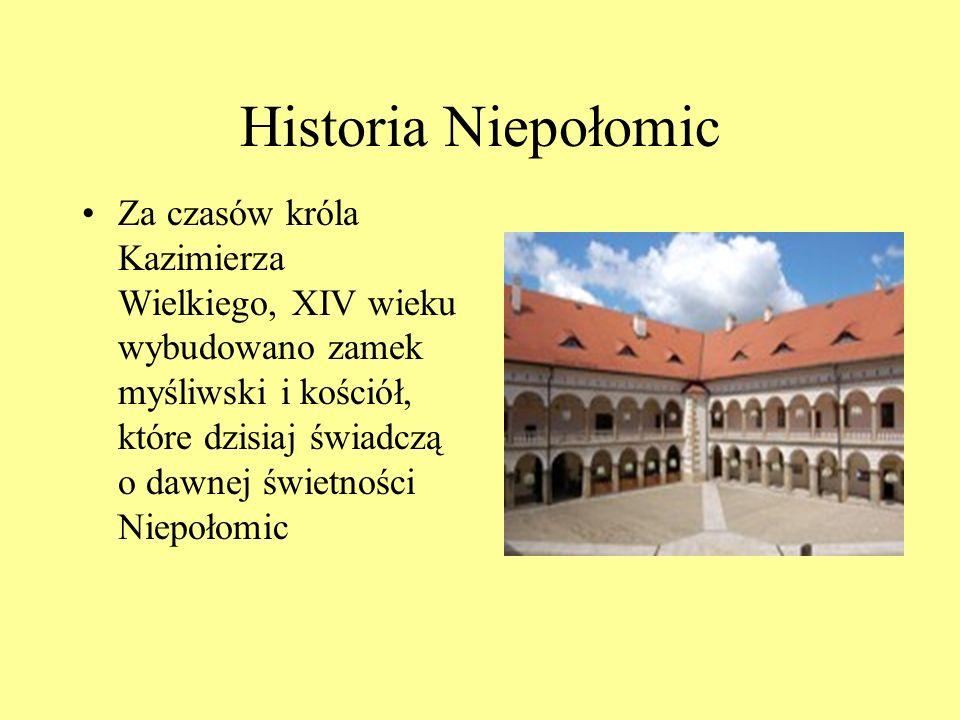 Historia Niepołomic