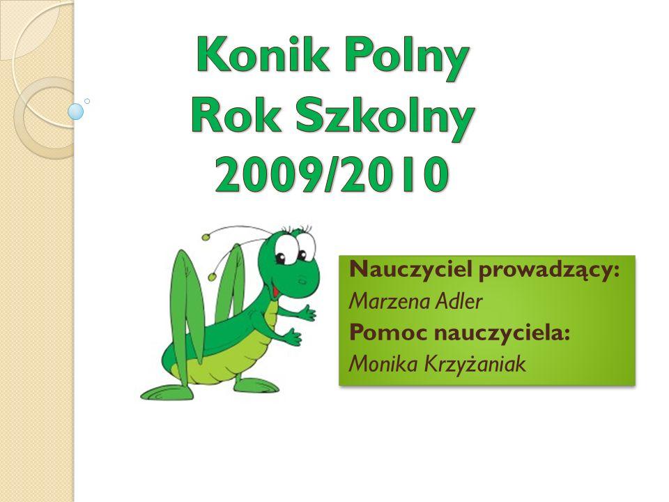 Konik Polny Rok Szkolny 2009/2010