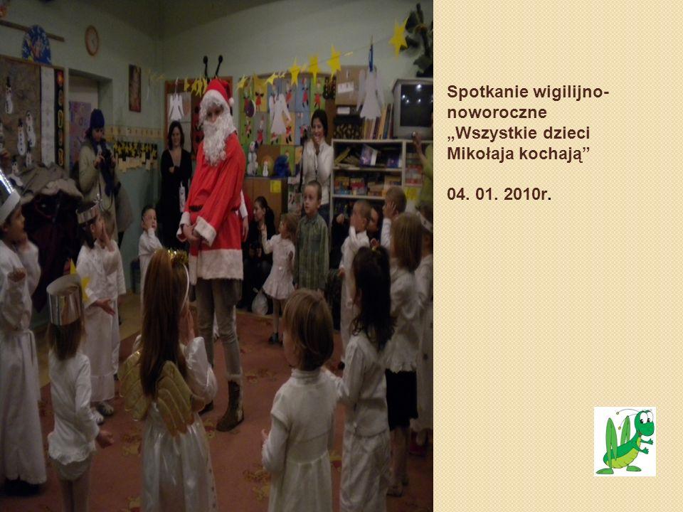 """Spotkanie wigilijno-noworoczne """"Wszystkie dzieci Mikołaja kochają 04"""