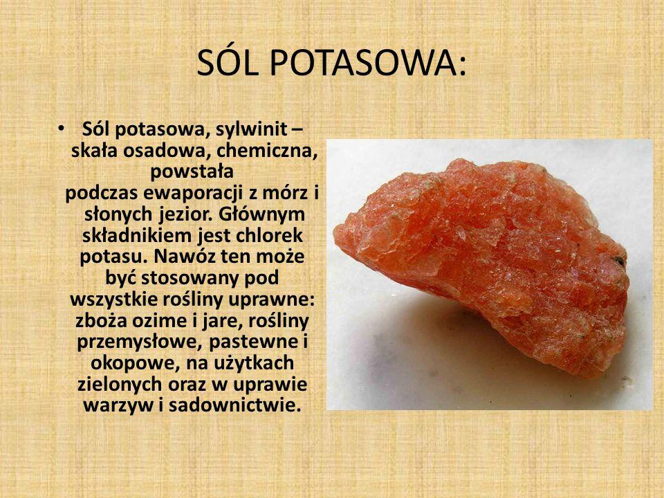 SÓL POTASOWA: