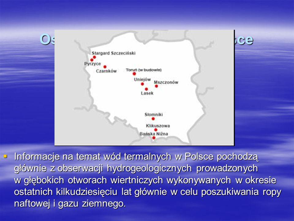 Ośrodki geotermalne w Polsce