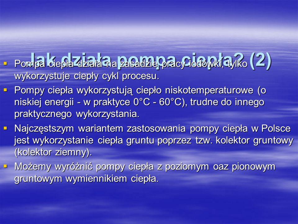 Jak działa pompa ciepła (2)