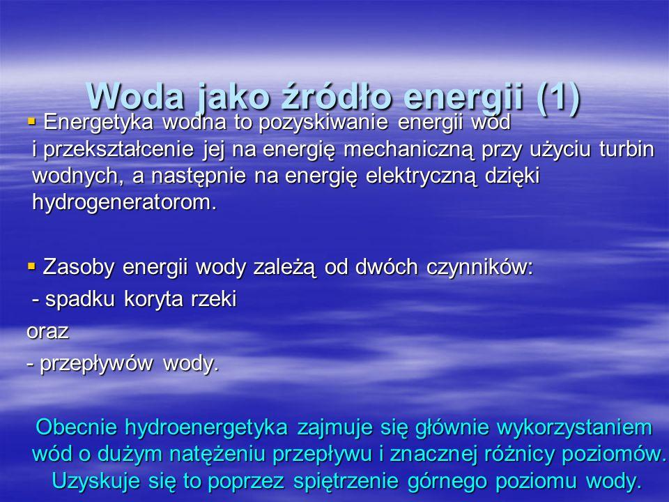 Woda jako źródło energii (1)