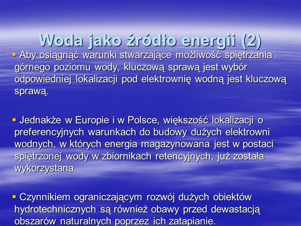 Woda jako źródło energii (2)