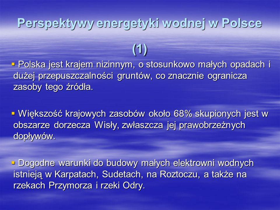 Perspektywy energetyki wodnej w Polsce (1)