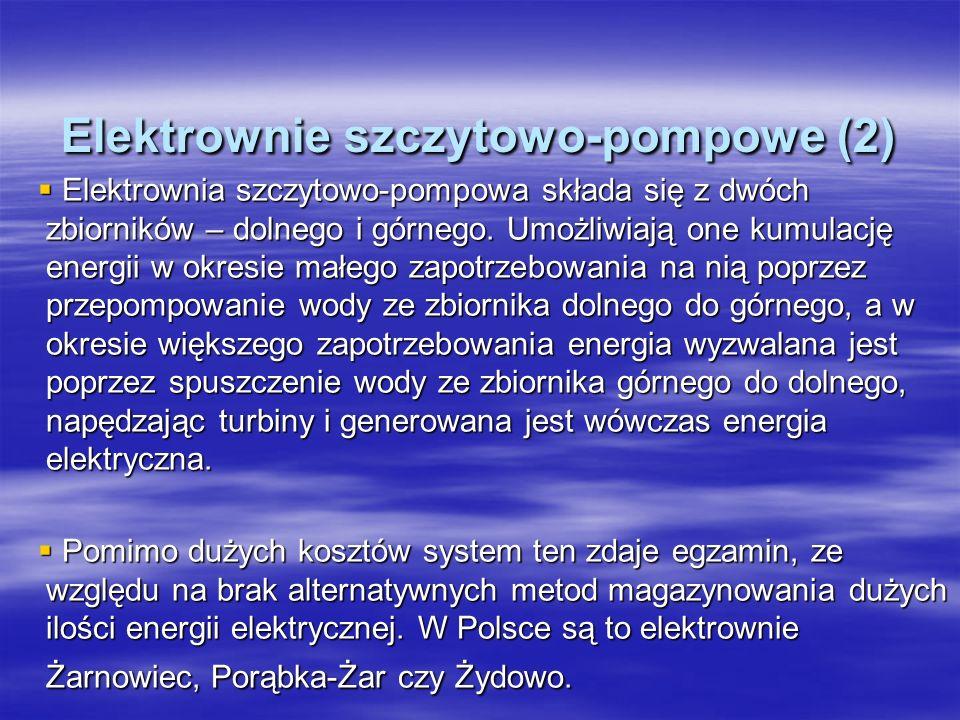 Elektrownie szczytowo-pompowe (2)