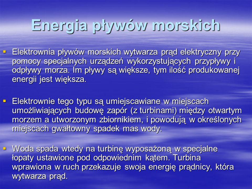 Energia pływów morskich