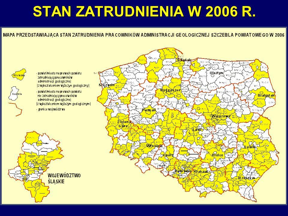 STAN ZATRUDNIENIA W 2006 R.