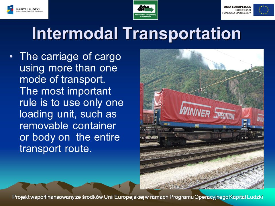 Intermodal Transportation