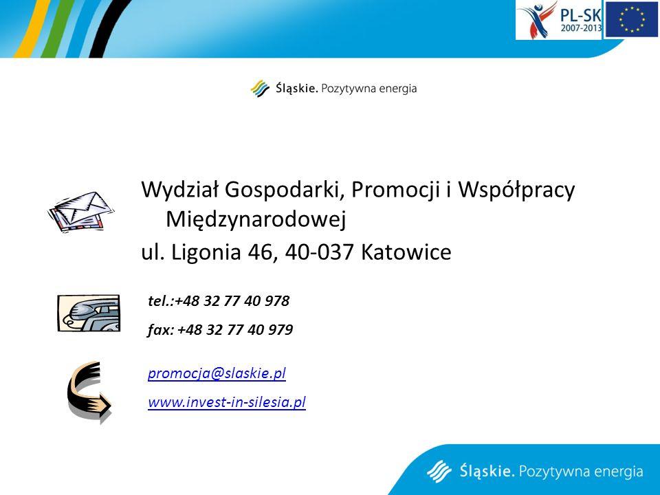 Wydział Gospodarki, Promocji i Współpracy Międzynarodowej