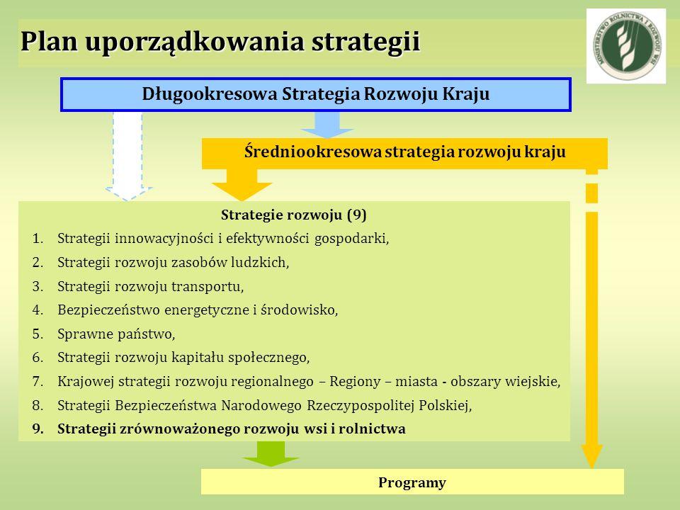 Plan uporządkowania strategii