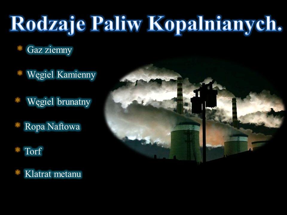 Rodzaje Paliw Kopalnianych.