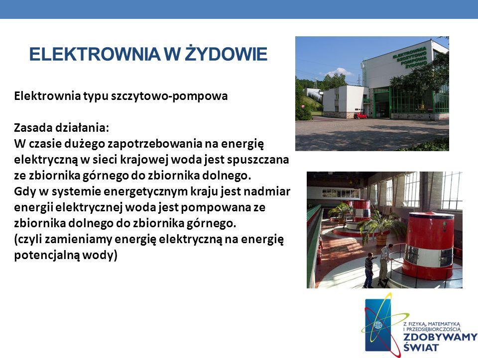 Elektrownia w Żydowie Elektrownia typu szczytowo-pompowa
