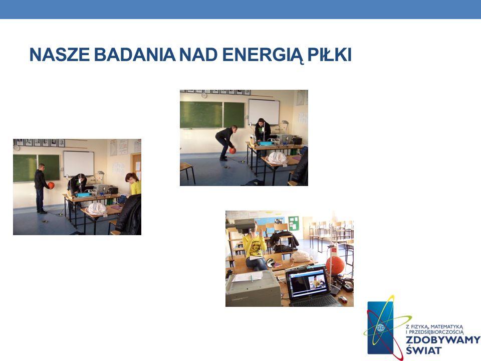 Nasze badania nad energią piłki