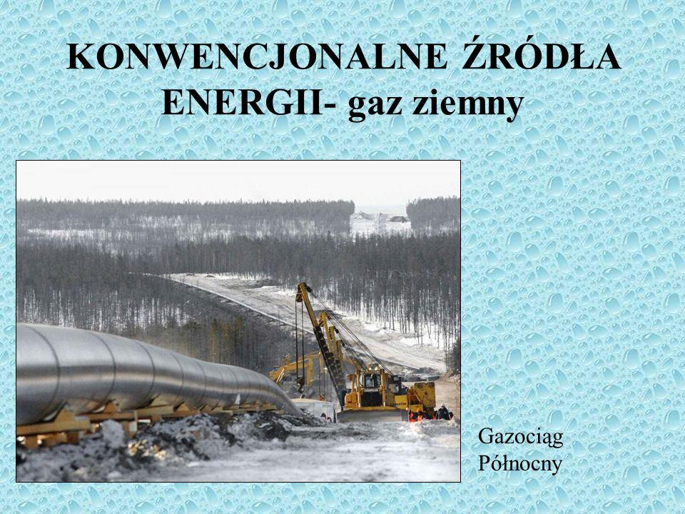 KONWENCJONALNE ŹRÓDŁA ENERGII- gaz ziemny