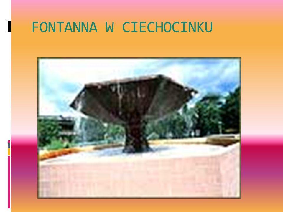 FONTANNA W CIECHOCINKU