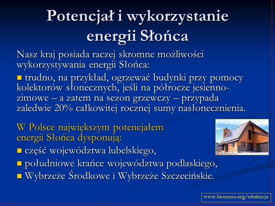 Potencjał i wykorzystanie energii Słońca