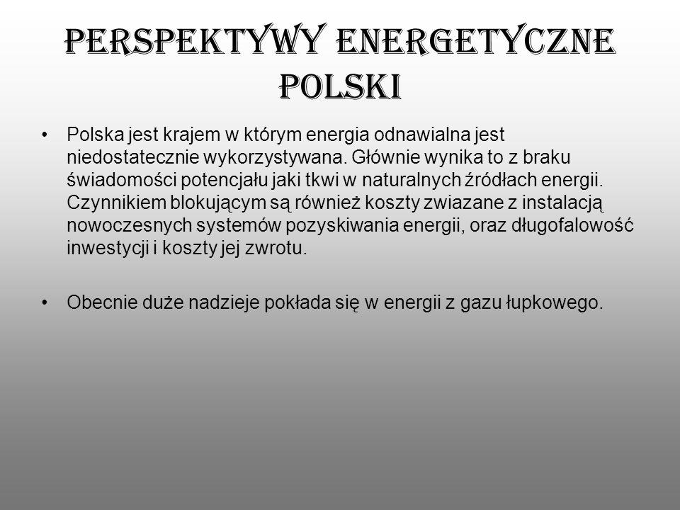 Perspektywy energetyczne Polski