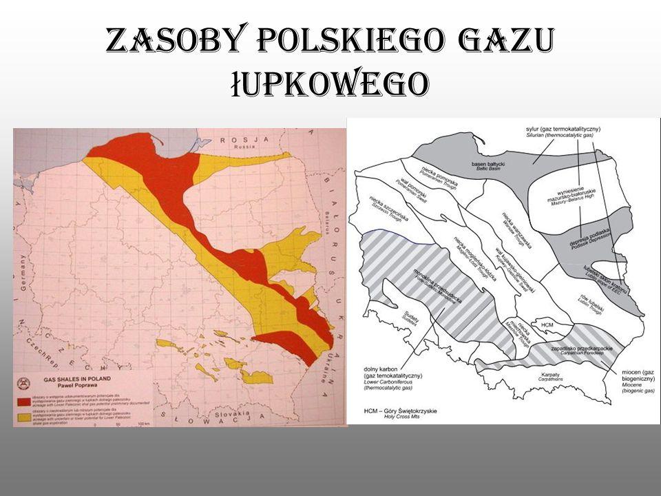 Zasoby polskiego gazu łupkowego
