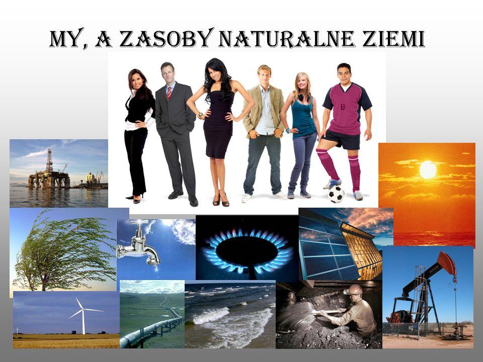 My, a zasoby naturalne ziemi