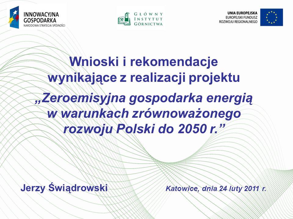Wnioski i rekomendacje wynikające z realizacji projektu