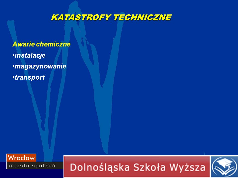 KATASTROFY TECHNICZNE