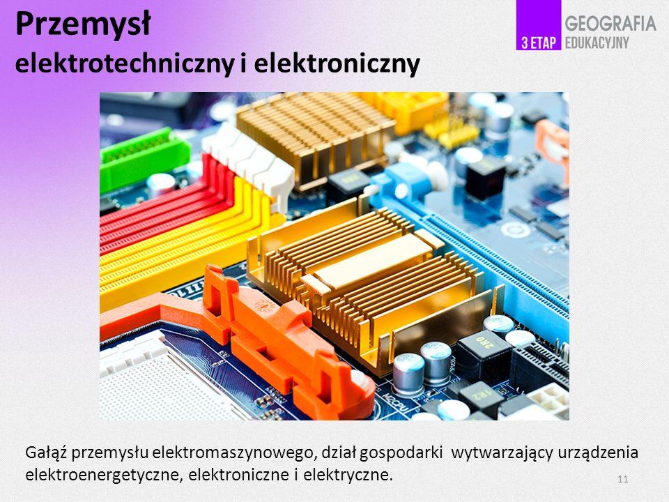 Przemysł elektrotechniczny i elektroniczny