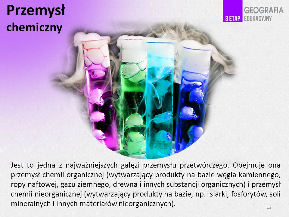 Przemysł chemiczny