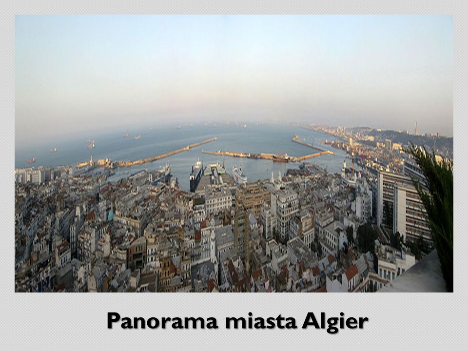Panorama miasta Algier