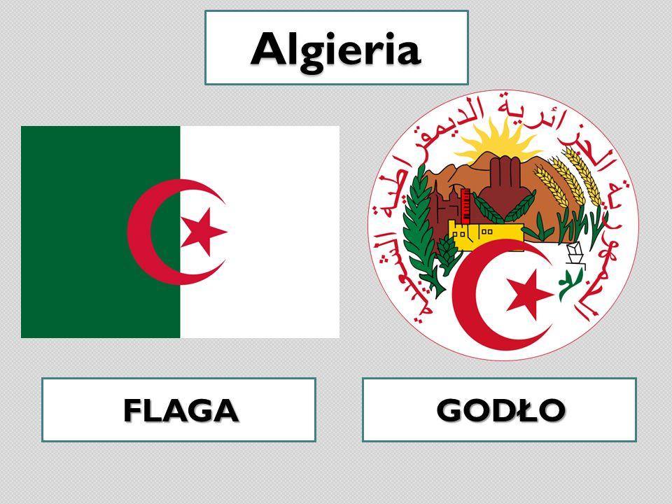 Algieria FLAGA GODŁO