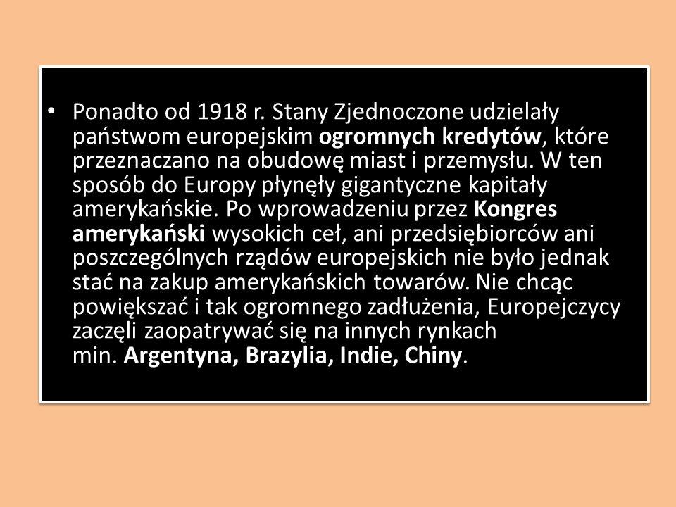 Ponadto od 1918 r.