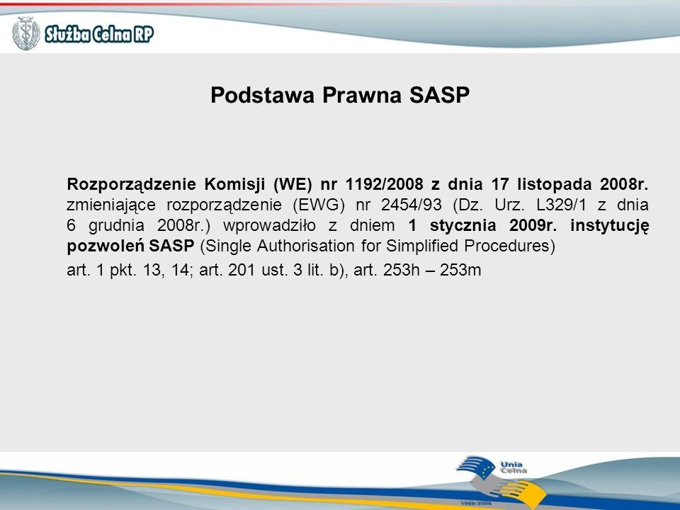 Podstawa Prawna SASP