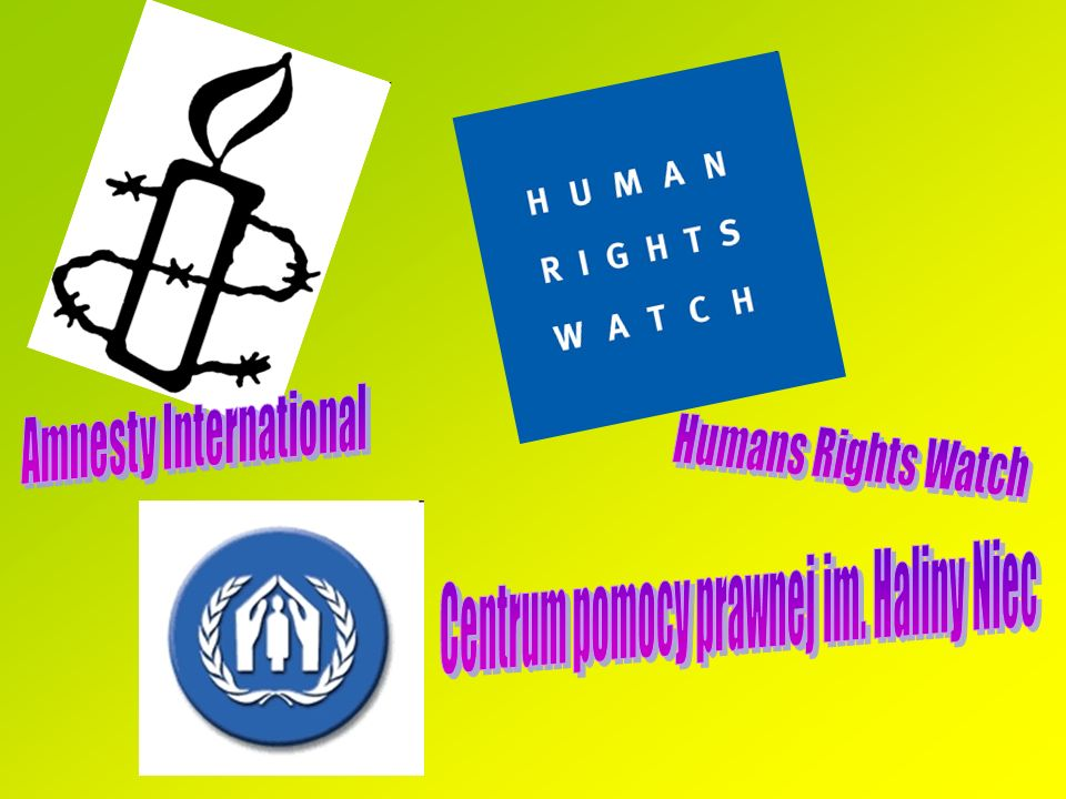 Amnesty International Humans Rights Watch