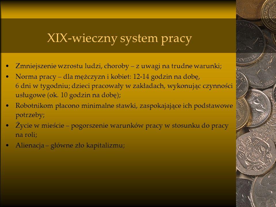 XIX-wieczny system pracy