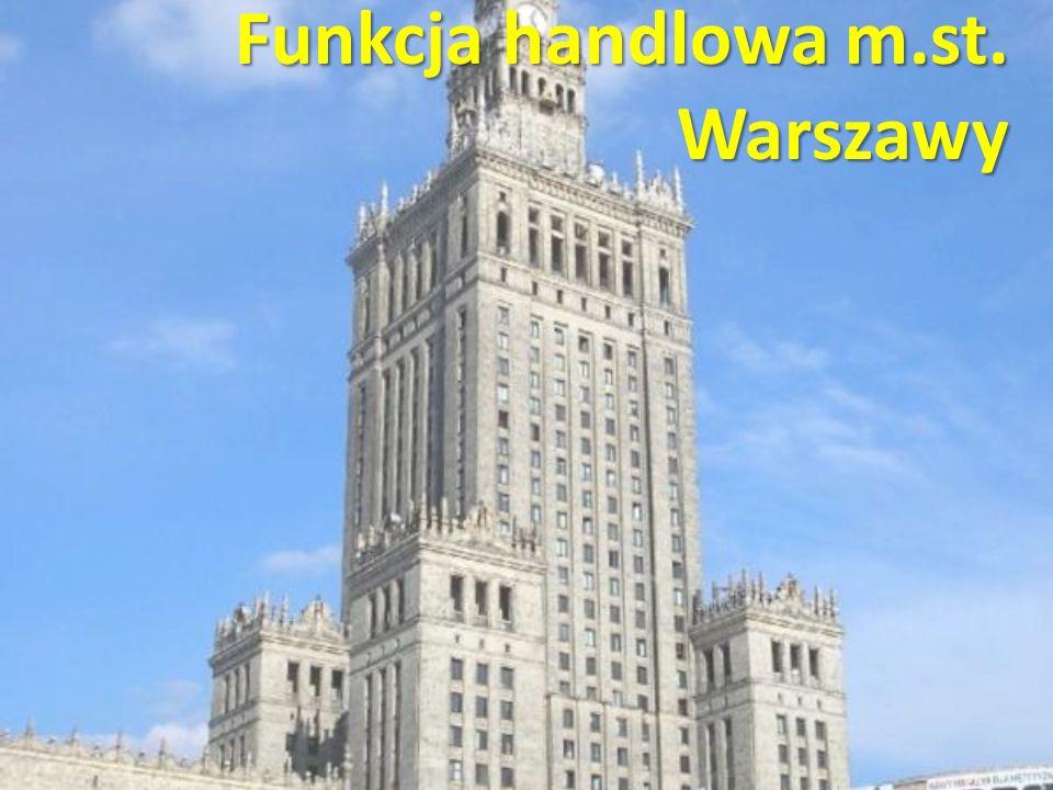 Funkcja handlowa m.st. Warszawy