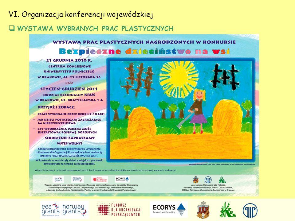VI. Organizacja konferencji wojewódzkiej