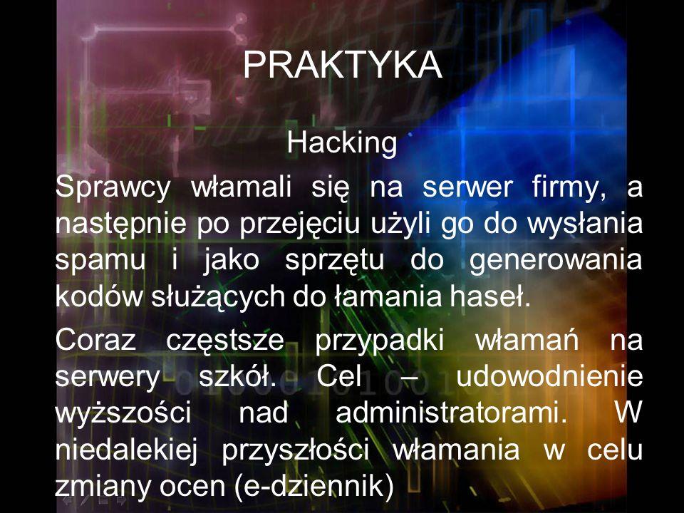 PRAKTYKA Hacking.