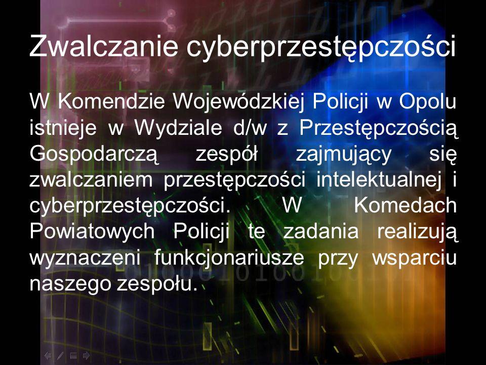 Zwalczanie cyberprzestępczości