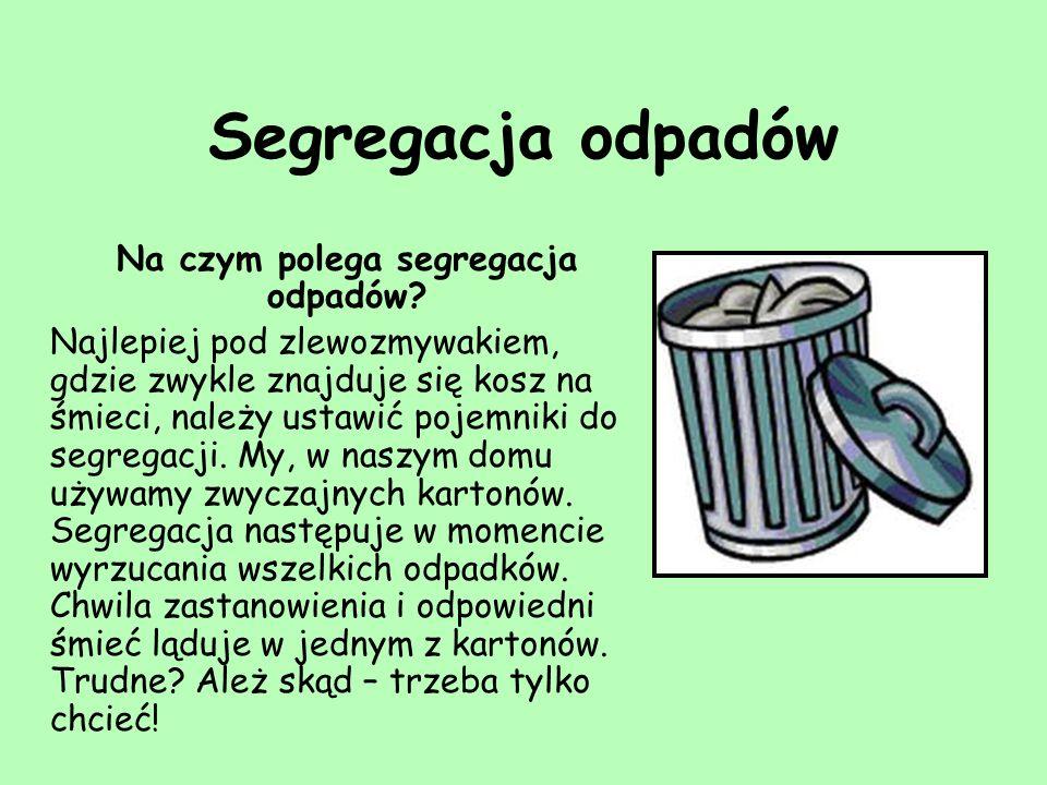 Na czym polega segregacja odpadów