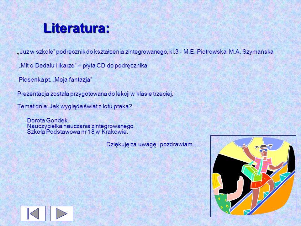 """Literatura: """"Mit o Dedalu I Ikarze – płyta CD do podręcznika"""